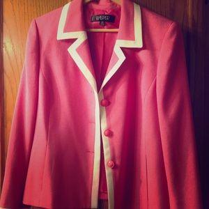 Kasper classic pink blazer NWT